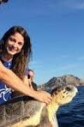 Ειρήνη Κασιμάτη Η ηρωίδα των θαλάσσιων χελωνών